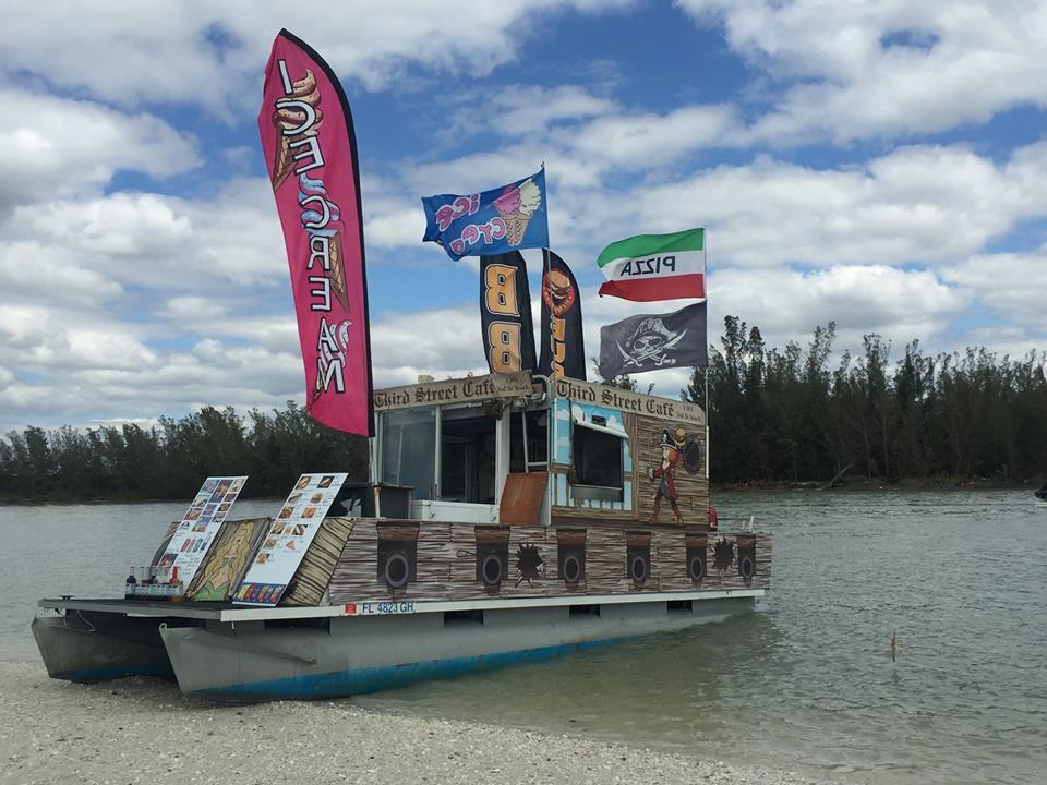 Keeywaydin Island Boat Food