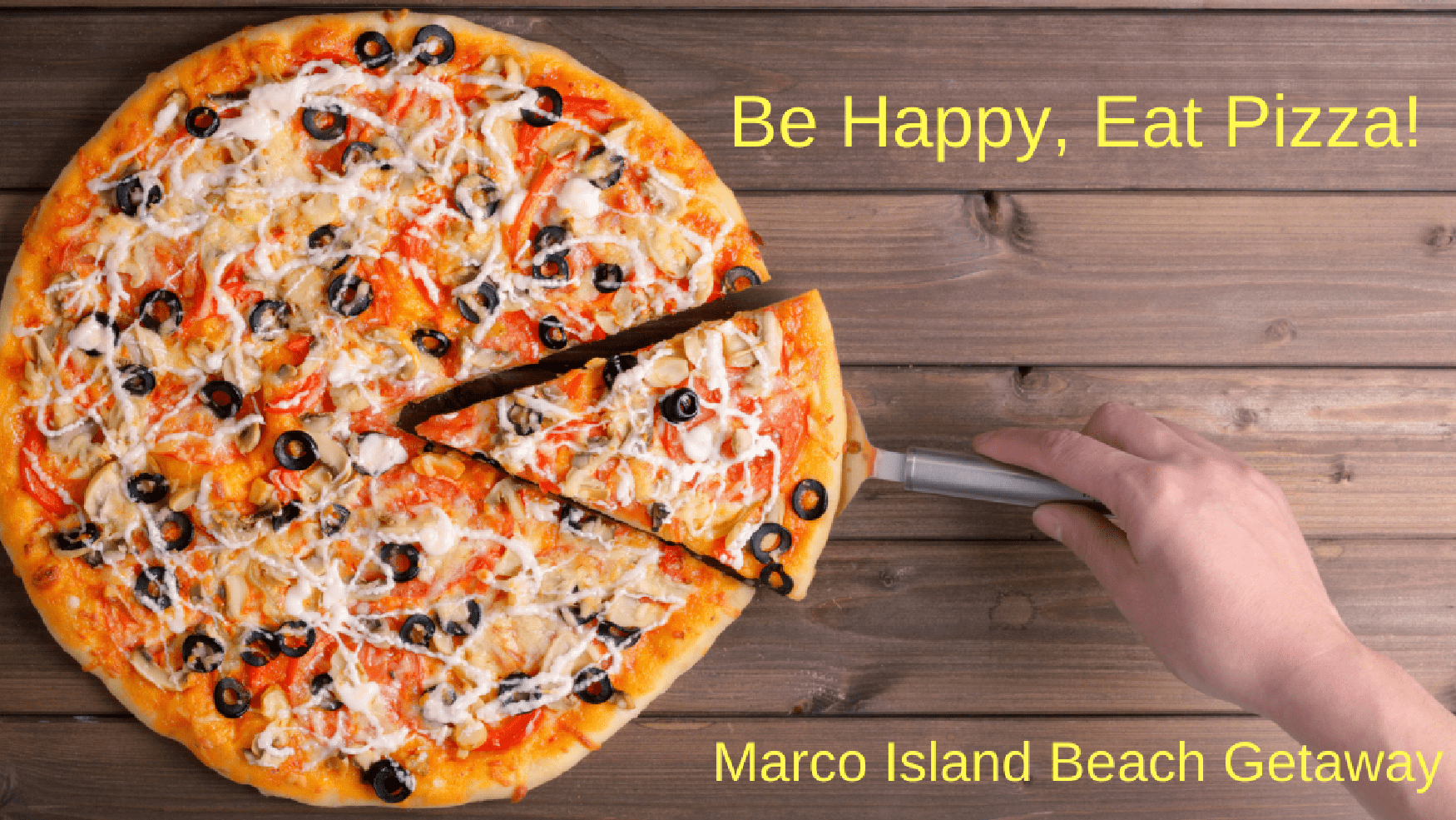 Be Happy, Eat pizza!