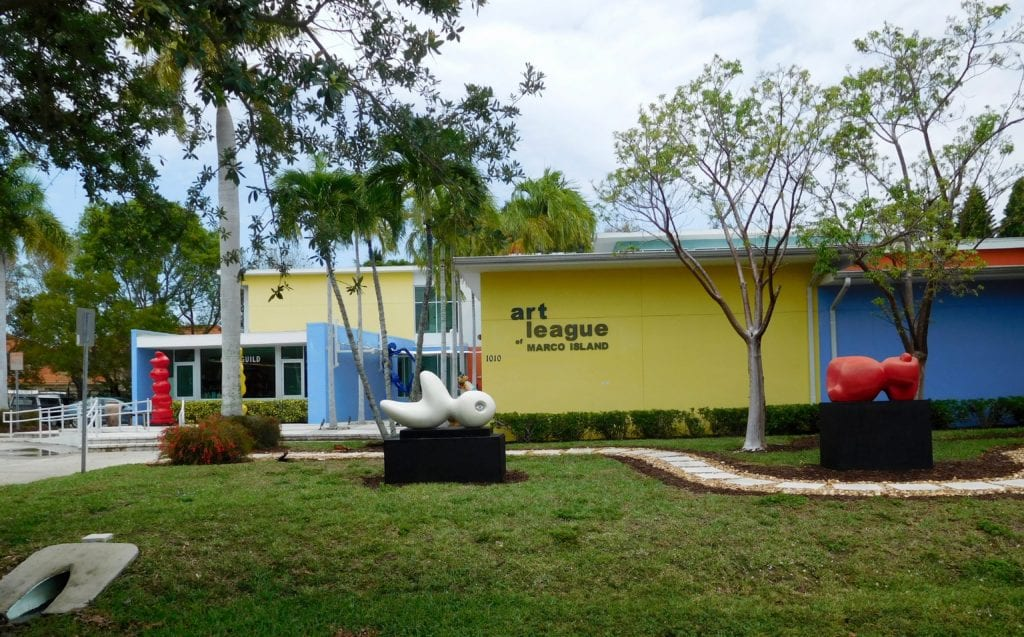 Art League located on Marco Island, Florida
