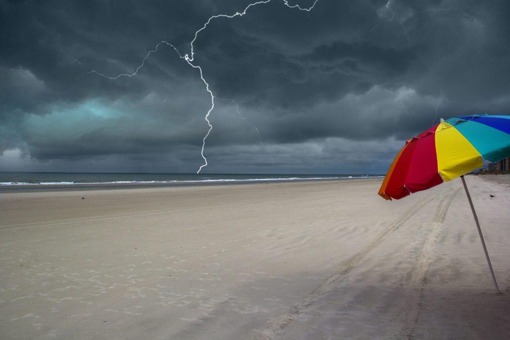 Lightening on Marco Island, Florida