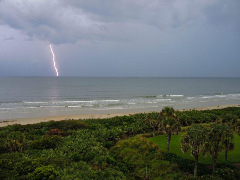 Lightening On Marco Island Florida