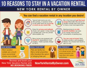 10 Reasons To Stay In a Vacation Rental|New York Rental By Owner