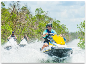 10,000 ISLANDS GUIDED JET SKI TOUR PNG