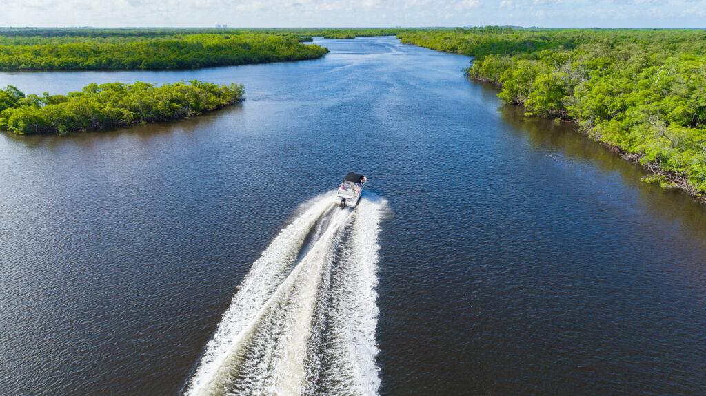 Boating on Marco Island Florida